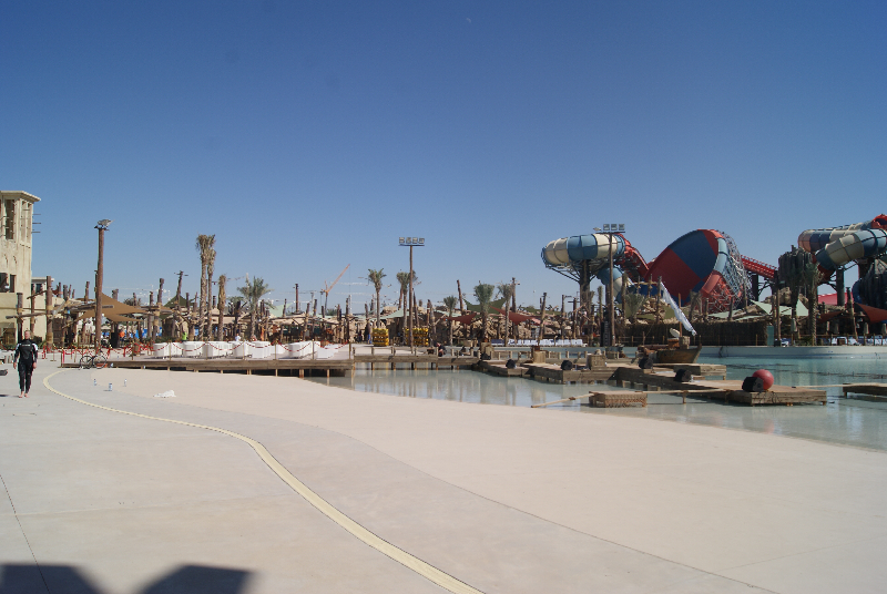 Yas Water World - Stage