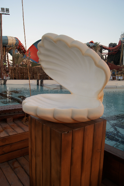 Yas Water World - Shell