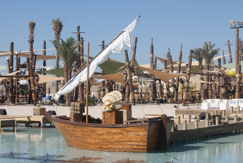 Yas Water World - Boat
