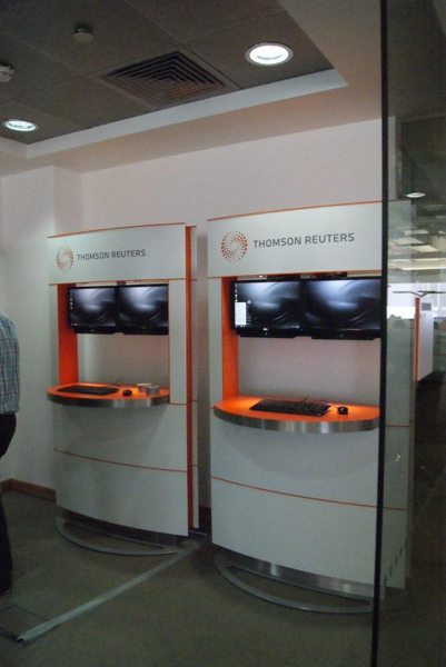 Thomson Reuters - Exhibition Pods