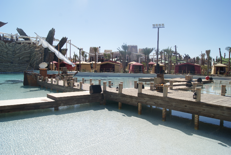 Yas Water World - Jetty